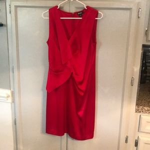 DKNY Red cocktail dress